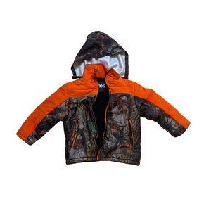 Totes outdoor camouflage orange kids boy coat 4 4T
